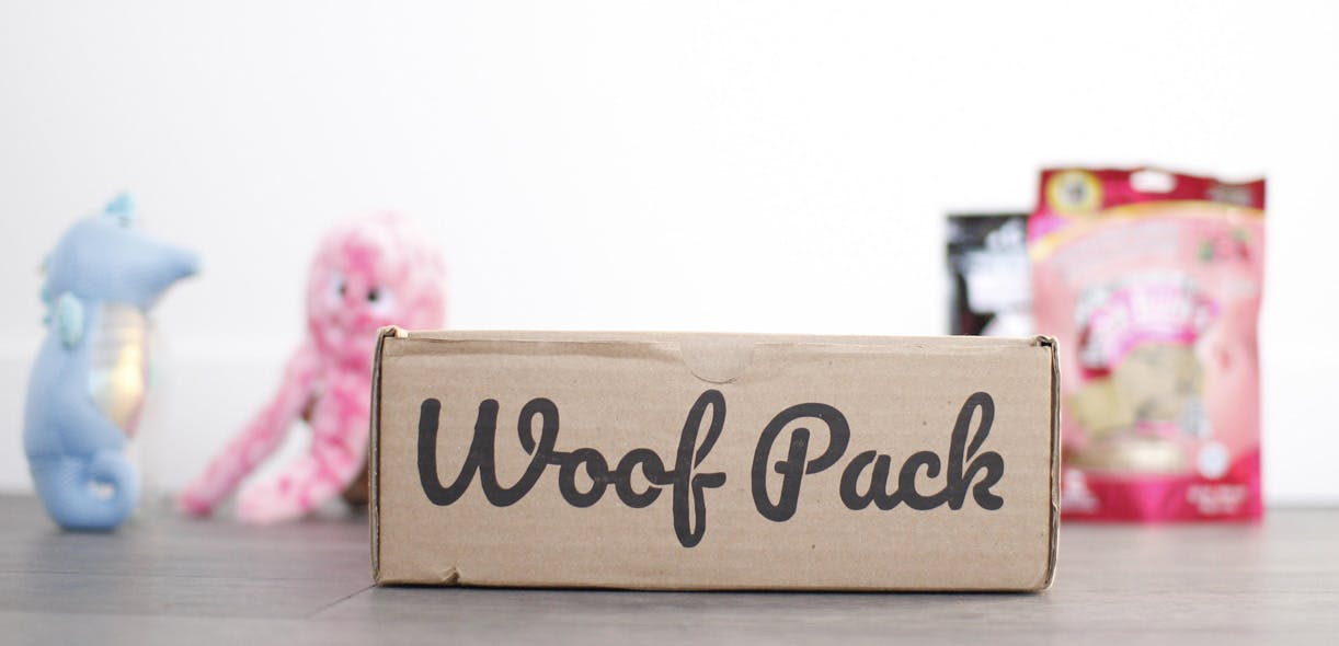Woof Pack—the monthly box for dogs