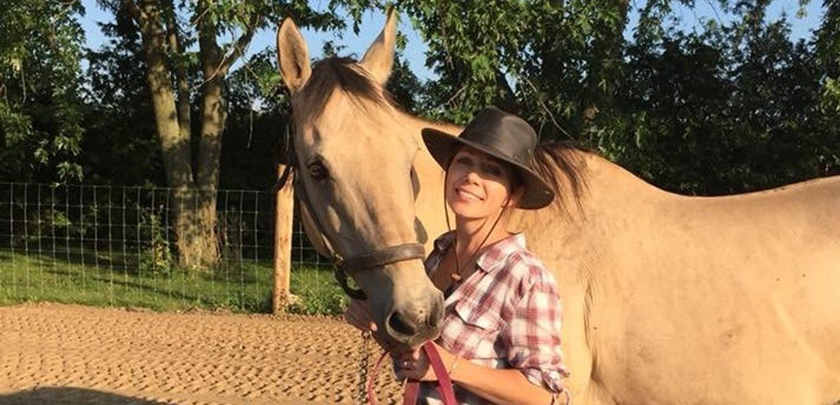 Life lessons from the horse of my dreams