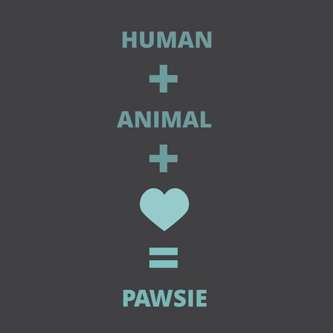 Pawsie is a simple equation.