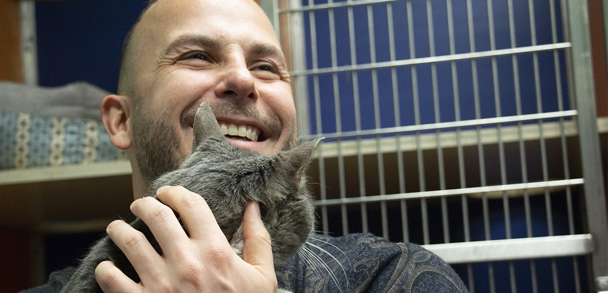 Yannick Nézet-Séguin's helping hand for shelter animals