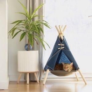 A tent for indoor adventurers