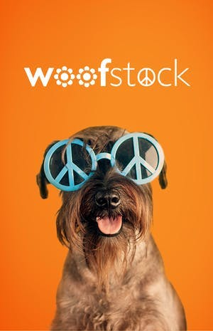 We're heading to Woofstock