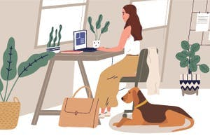 Working from home: Paradise for our pets